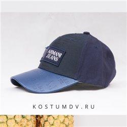 Бейсболки синие Армани Джинс 2306 мужские