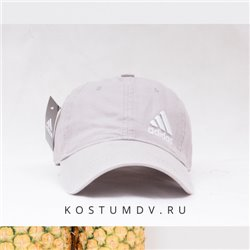 Бежевая кепка Adidas на лето материал хлопок арт 2312
