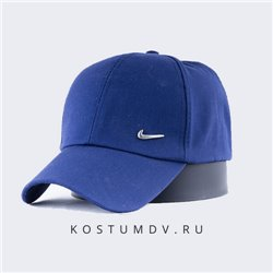 Синяя кепка Nike для мужчин цвет темно синий арт 2316