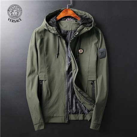 Весенняя куртка для мужчин Версаче нейлоновая
