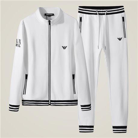 Белый спортивный костюм мужской Armani Exchange