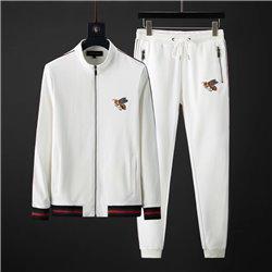 Белый хлопковый костюм для мужчин Гуччи арт 3455