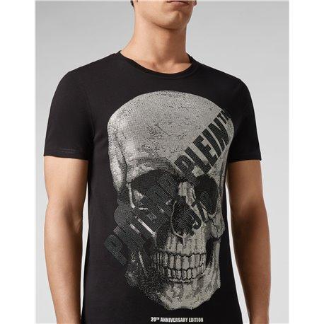 Черные футболки с черепами на груди Philipp Plein 6679