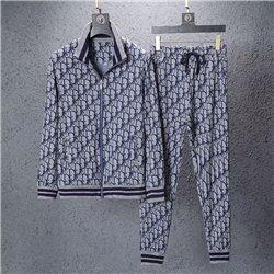 Серый спортивный костюм для мужчины Dior арт 4459