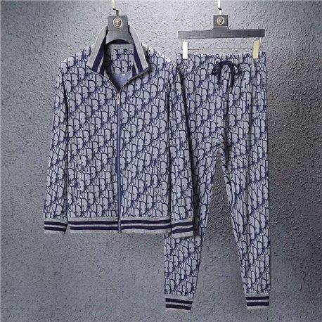 Серый спортивный костюм для мужчины Dior