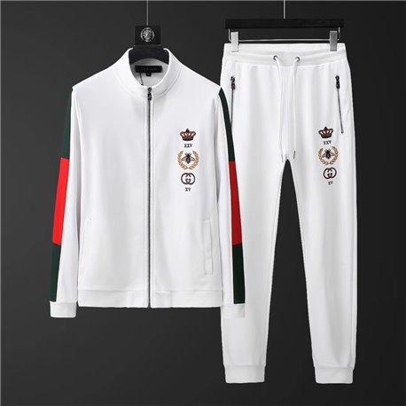 Белый спортивный костюм Gucci для мужчин арт 4502