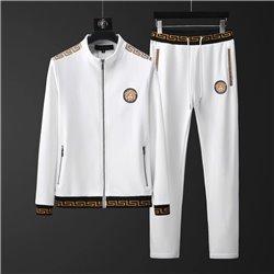 Спортивный костюм Версаче трикотаж на молнии арт 4509